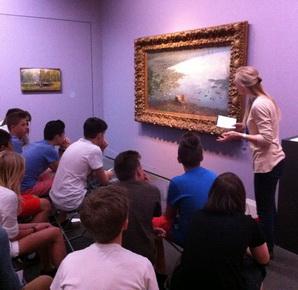 Schüler besuchen Museen