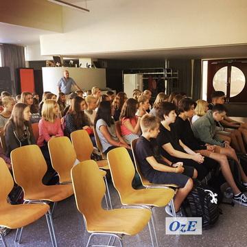 erster Schultag Oberstufenzentrum Bolligen