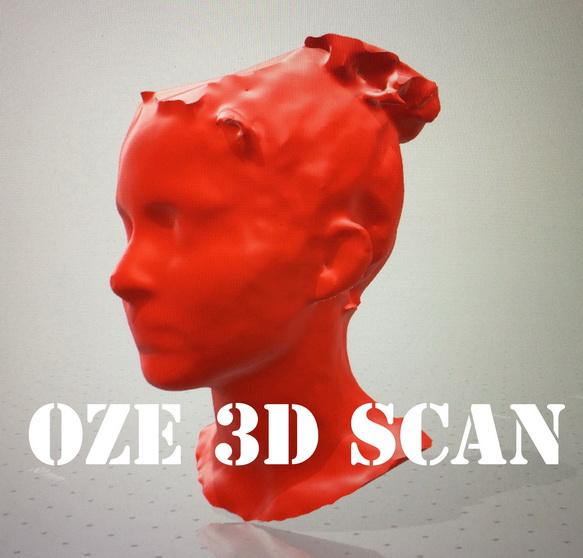 OzE 3D Scanner