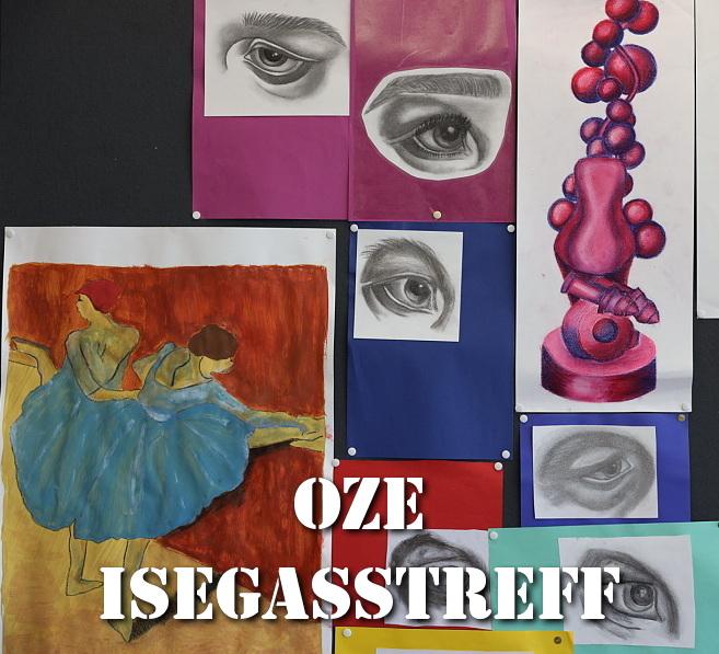 Ausstellung Zeichnen BG Teil 1 Isegasstreff 21